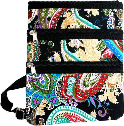 Women/'s Fashion Print Messenger Cross-body Bag Purse Hipster Shopping Shoulder