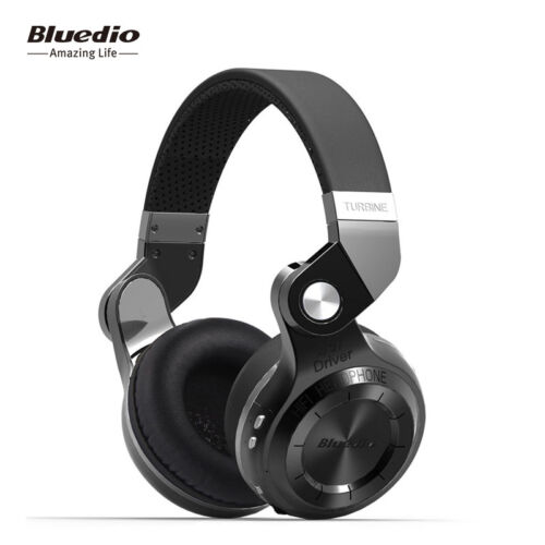 Bluedio Turbine T2s Over-Ear 3.5mm Wireless Bluetooth Professional Headphones - Multi Colors