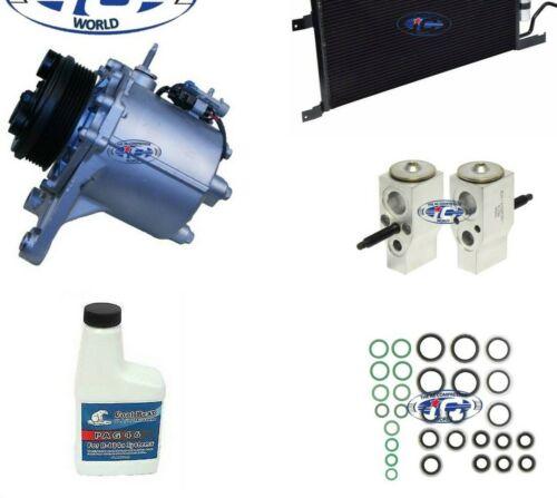 A//C Compressor /& Condenser Kit Fits Terraza Uplander Montana OEM MSC105CG2 77499