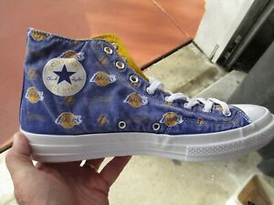 d3f29c13e9611f Converse Chuck Taylor All Star 70 High tops Los Angeles Lakers Mens ...