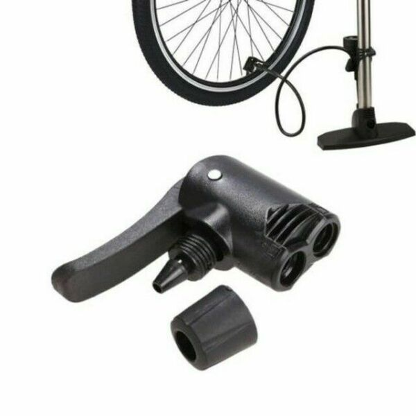Bike Cycle Bicycle Tyre Tube Replacement Presta Dual Adapter F2Y1 Pump Air P6T0