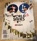 2017 World Series Program Astros vs Dodgers NEW shipped in a box