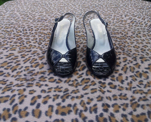 37 Pointure Shoes 4 Black Russell Uk Bromley RqHFSS