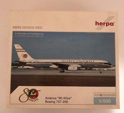 of-Wings StarJets 1:500 avianca colombia boeing 757-200 #world