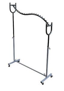 Kleiderstaender-Metall-Kleiderstange-Garderobenstaender-Rollgarderobe-Garderobe