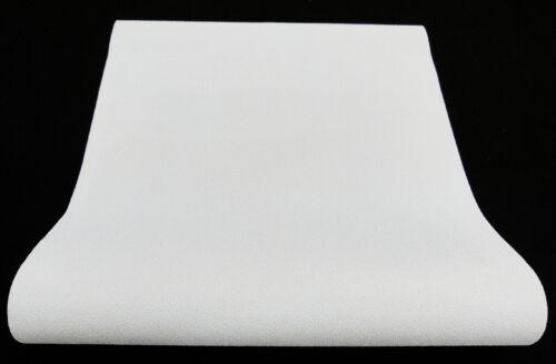 """moderne nappes papier peint unicolore blanc avec paillettes /""""Crystal COLOURS/"""" 6314-01"""