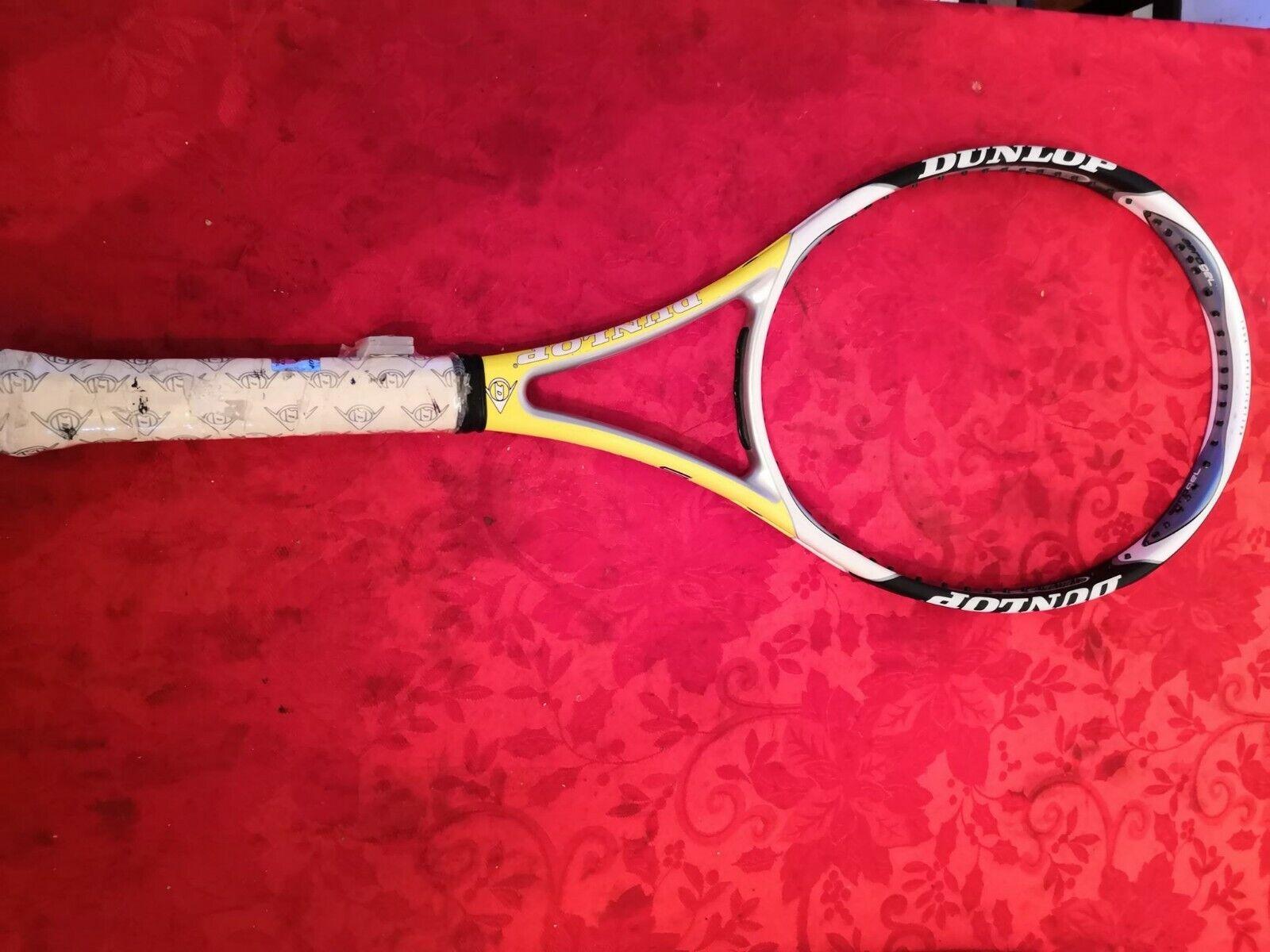 Nuevo Dunlop Aerogel 500 100 cabeza 16x18 patrón 4 1 4 Grip Tenis Raqueta