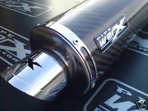 Pipe Werx Kawasaki ZX7R Carbon Round Exhaust SL