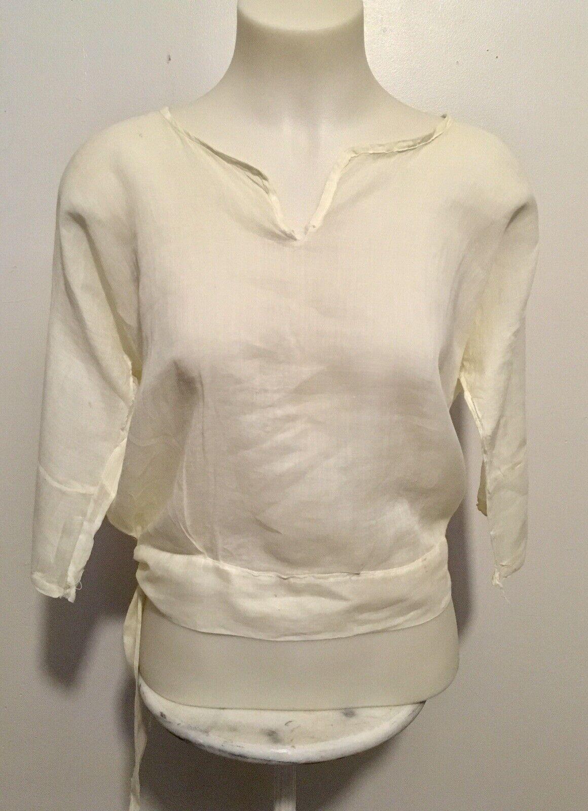 Antique Edwardian Victorian Shirtwaist Blouse - image 2