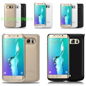sports shoes 9d9ab fbef8 Details about Samsung Galaxy S6 Edge Plus Extended Battery Pack External  Charger Case 4200mAh