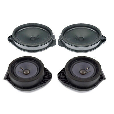 Oem New Bose Door Speaker Complete Set 4 Gm Trucks Suvs 84190241 84316439 Ebay