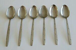 Vintage-Starburst-Tablespoons-Modern-Steel-Craft-Japan-Set-of-Six-6