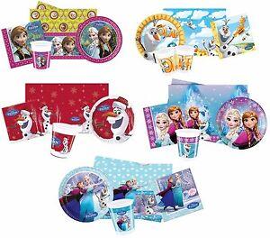 Fete-Paquets-sous-Licence-la-Reine-des-Neiges-Gammes-Disney-Anniversaire
