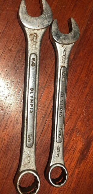 """OLYMPIA TOOLS 5//8/"""" COMBINATION WRENCH"""