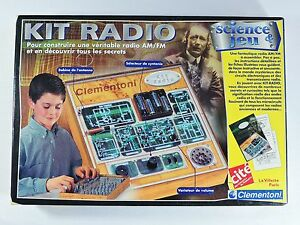 Kit-Radio-Science-amp-Jeu-educational-science-building-kit-Clementoni-ham-AM-FM