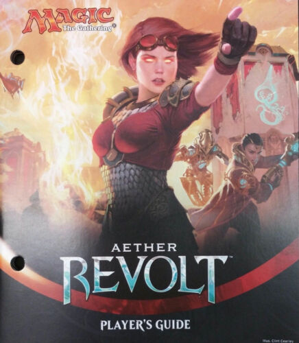 Magic the Gathering Aether Revolt Player's Guide MTG