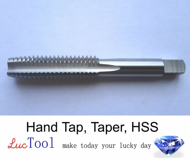 "High Quality 1-1//4/""-12 NF Carbon Steel Plug LEFT HAND Hand Tap 4FL LH"