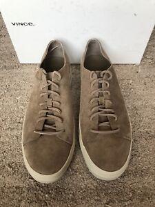 VINCE Copeland Flint Sneaker Suede Mens