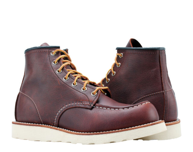 Red Wing Heritage MOC Toe BOOTS 6 Inch