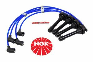 Details about 97-02 MITSUBISHI MIRAGE 1.8L NGK SPARK PLUG WIRES 4G93 on