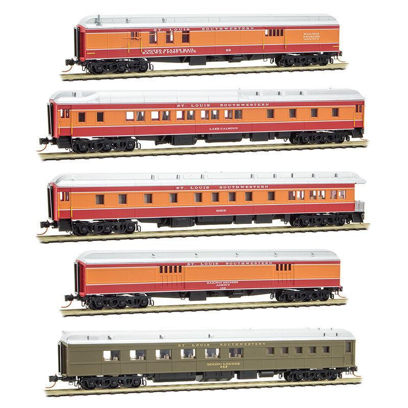 Escala N-Micro-Trains 993 01 720 SSW-Algodón Cinturón 5 coche HWT de pasajeros Coche Set