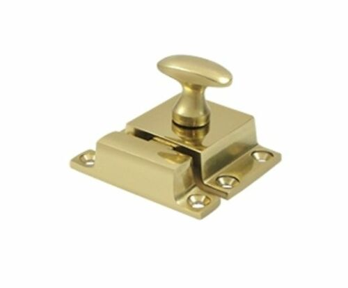 Cupboard Latch Cabinet Lock Small Solid Brass in 9 Finishes By FPL Door Locks