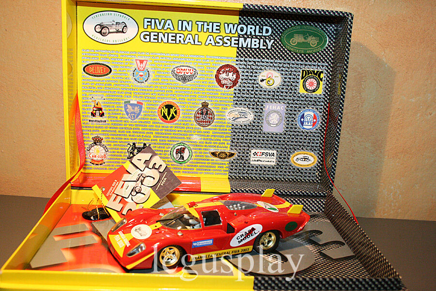 Slot car SCX Scalextric Fly 96020 Ferrari 512S Assembly General FIVA 2003