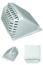 Deflecto 4 Dryer Vent Hood White Exhaust Fan Cover Wide Mouth Maximum Airflow
