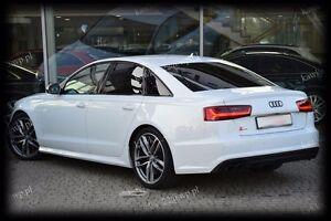 Audi-A6-S6-C7-Rear-Trunk-Boot-Lip-Spoiler-PRIMED-amp-QUALITY