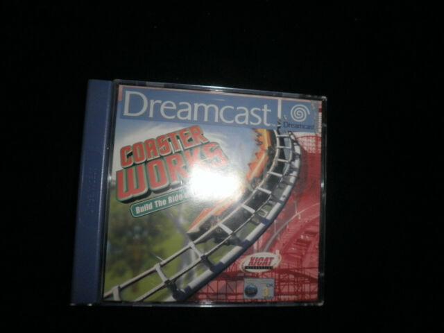 Sega Dreamcast-Coaster Works - 100%