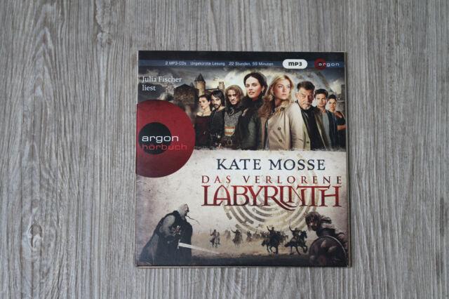 Kate Mosse, Das verlorene Labyrinth, Hörbuch, 22h59m, 2 mp3 CDs, wie NEU