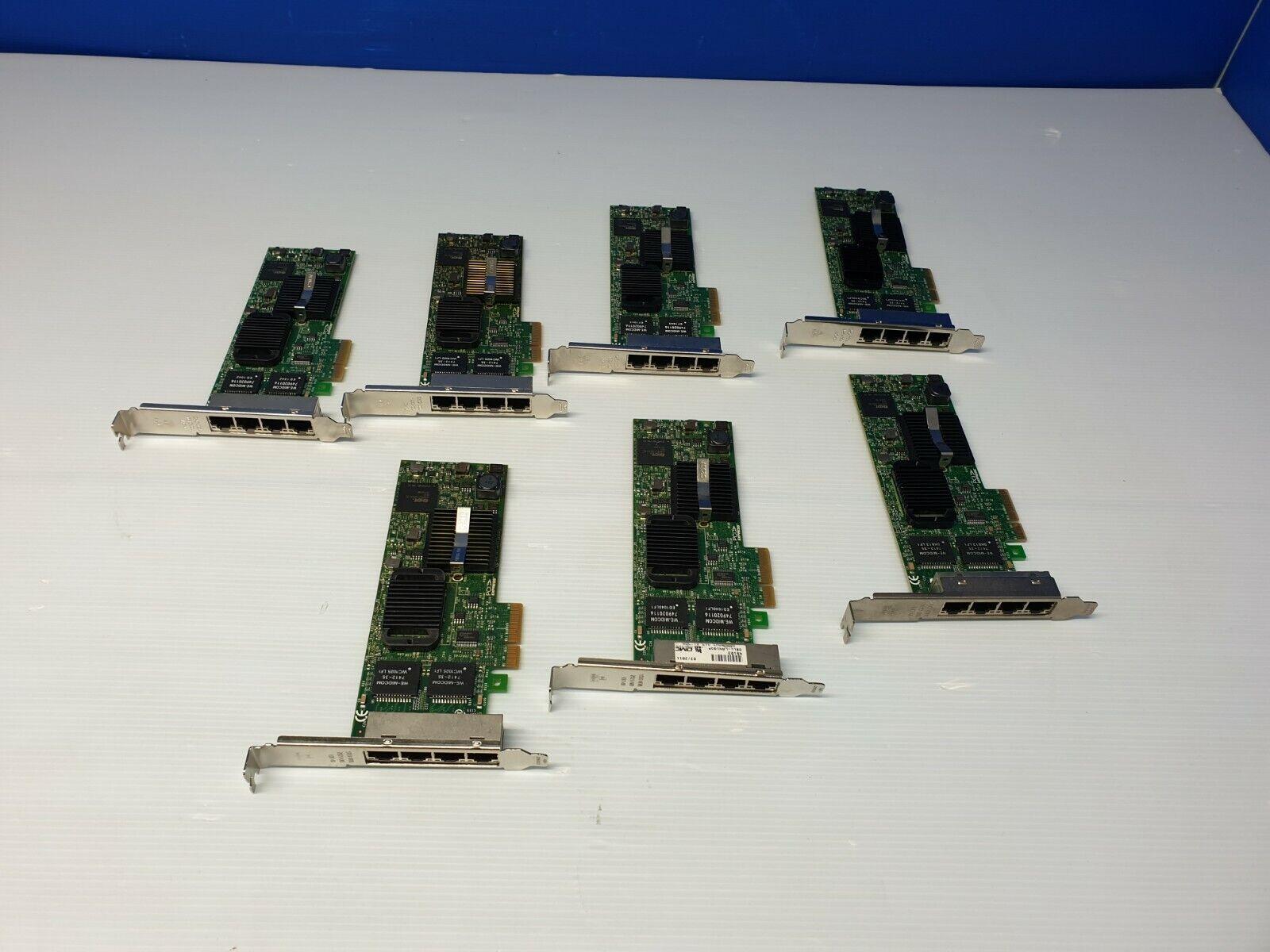 Dell H092P PRO/1000 ET LP PCI-E Quad Port Server Adapter 0H092P Lot of 7
