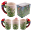 thumbnail 8 - Animal Shaped Handle Ceramic Mug Tea Coffee Cup Novelty Gift Jungle Tropical