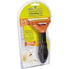 FURminator für langhaarige mittelgroße Hunde, deShedding-Pflege Werkzeug Bürste