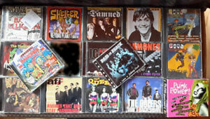 Raccolta-CD-punk-hardcore-19-CD-rosedales-Ramones-Sick-of-It-All-AFI-amp-more