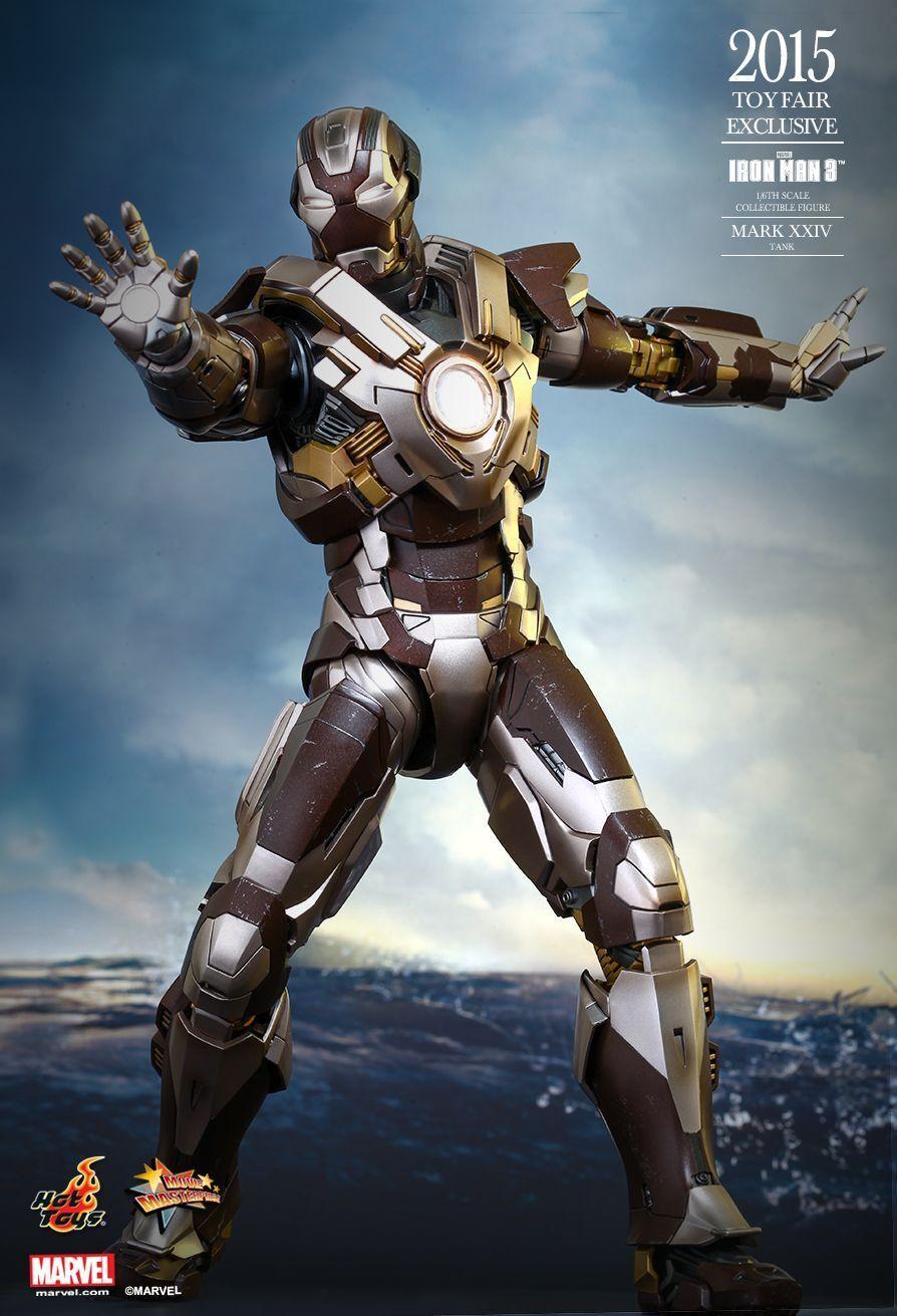 Hot Toys Iron Man Tank 1 6th Scale Figure