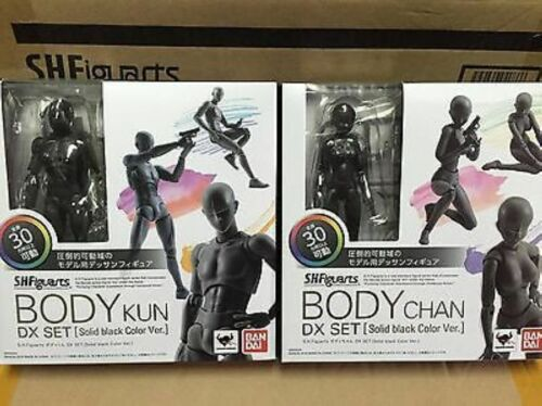 S.H.Figuarts He She Body Kun DX Set black Color Ver Body-Chan Action PVC Figure