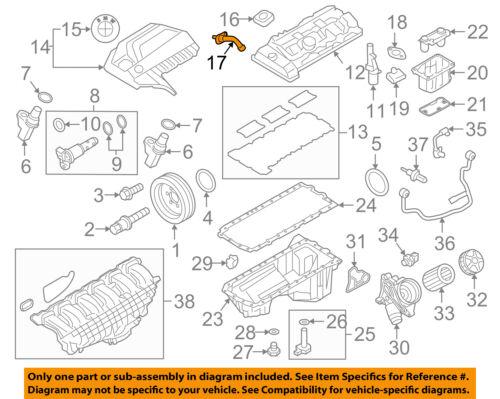 BMW OEM 13-17 X3 2.0L-L4-Pcv Valve 11127584128