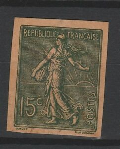 FRANCOBOLLI-1903-FRANCIA-SEMINATRICE-C-15-NON-DENTELLATO-Z-9717