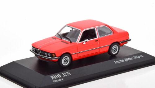 1:43 Minichamps BMW 323i E21 1975 red