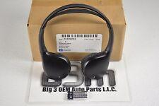 Cadillac Pontiac GMC Buick Black Headphone Accessories Package new OEM 23109052