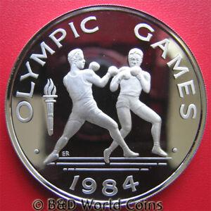 1984-SAMOA-10-TALA-94oz-SILVER-PROOF-BOXING-LOS-ANGELES-SUMMER-OLYMPICS-M-3-000