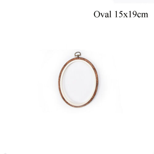 Wooden DIY Needle Arts Cross Stitch Frame Embroidery Hoop Ring Sewing Tools