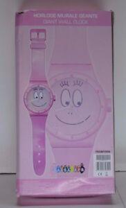 Horloge Montre Geante Barbapapa Jouet Figurine Dvd Jeu Educatif