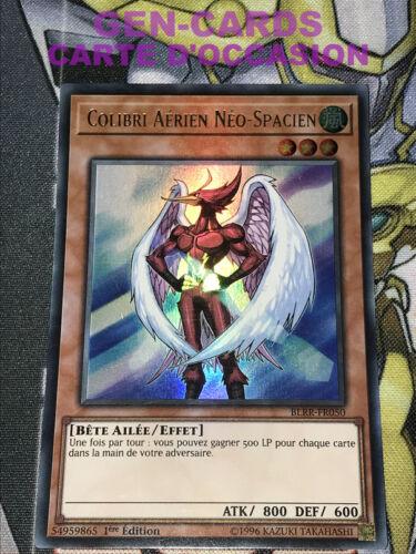 OCCASION Carte Yu Gi Oh COLIBRI AERIEN NEO-SPACIEN BLRR-FR050 1ère édition