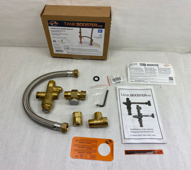 Cash Acme Water Heater Tank Booster Pro With Temperature Gauge 24644 For Sale Online
