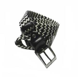CINTURA-UOMO-intrecciata-e-PELLE-NERA-e-corda-bianca-bianco-nero-optical-made-It