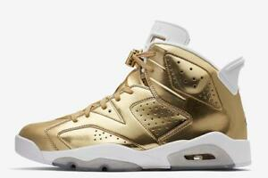 a7183882232 Image is loading New-Limited-Edition-Jordan-6-Pinnacle-Metallic-Gold-