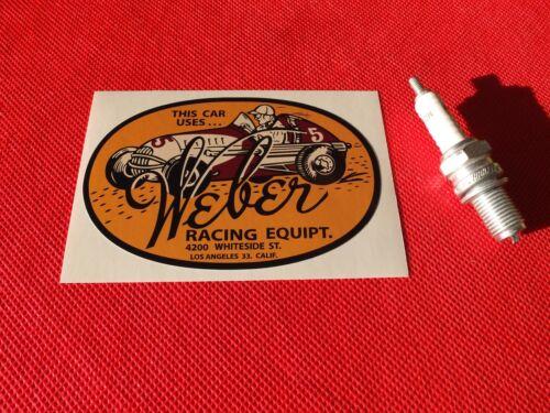 Weber Racing Californie Autocollant la