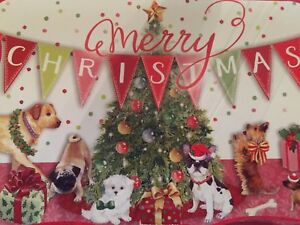 Christmas Puppies.Details About Molly Rex 24 Assorted Christmas Puppies Die Cut Holiday Cards Punch Studio New